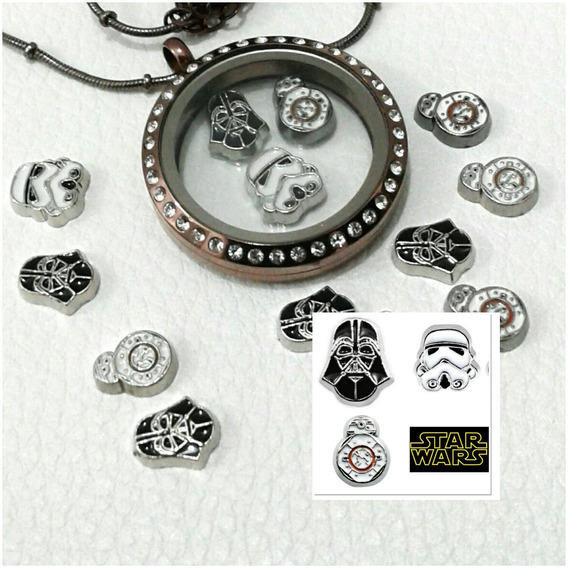 Charms Cápsulas Secrets Vivara Life Star Wars