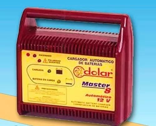 Cargador Baterías Automático De Flote Master 8 Dolar 12 Ctas