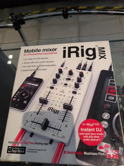 Irig Mix (ultra-compacto Mixer Para Dj)