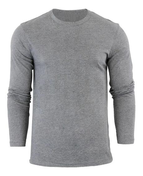 Camiseta Manga Longa Moda Swag - Tecido Confort Line®