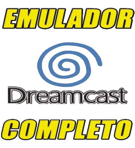 Emulador Dreamcast Completo Fullset Jogos P/ Tds Os Windows