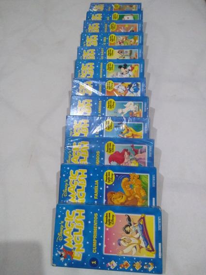 Coleção De Fitas De Vídeo Cacete Da Walt Disney,muito Raro.