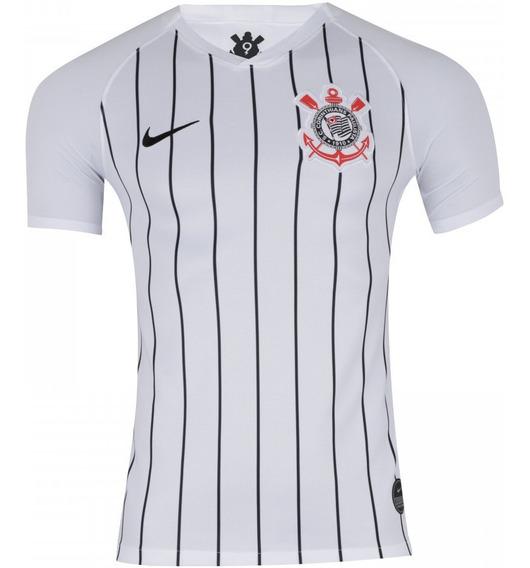 Promoção Camisa Corinthians I 2019 Branca Personalizável Frete Grátis