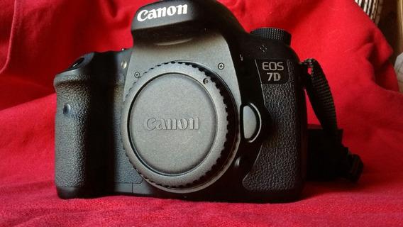 Canon 7d Camara Reflex