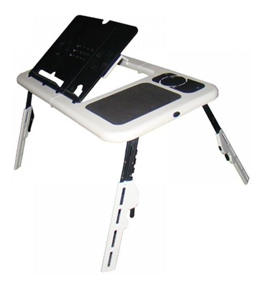 Mesinha Para Laptop Note Book Portátil Dobrável Com Cooler