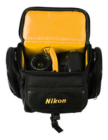 Bolsa Bag Nikon Para Cameras E Acessórios Pronta Entrega