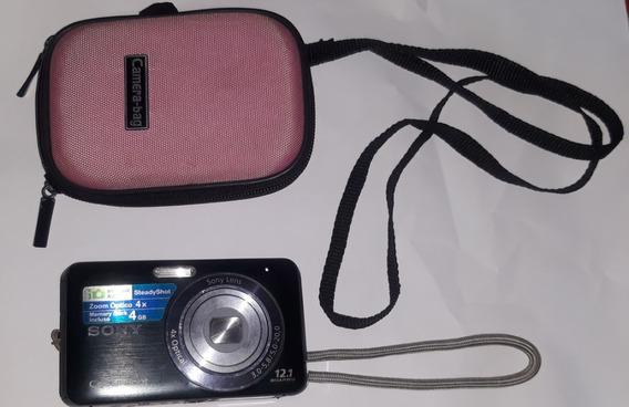 Câmera Digital Sony Dsc-w310 12.1 Mp + Bateria Extra