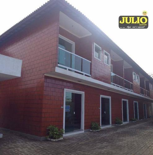 Imagem 1 de 24 de Sobrado Com 2 Dormitórios À Venda, 65 M² Por R$ 249.000,00 - Vila Suarão - Itanhaém/sp - So0717