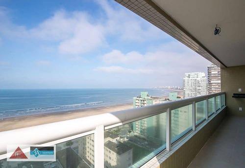 Imagem 1 de 30 de Apartamento Com 3 Dormitórios À Venda, 107 M² Por R$ 700.000,00 - Canto Do Forte - Praia Grande/sp - Ap6685