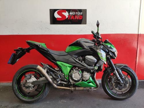 Kawasaki Z 800 Z800 Z-800 Abs 2014 Verde