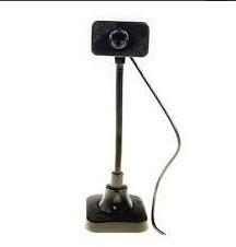 Webcam 8mp Usb C/microfone Tec W1 Web0016r Preta