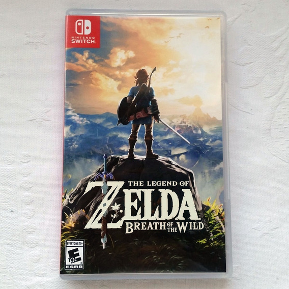 The Legend Of Zelda Breath Of The Wild - Semi Novo Switch