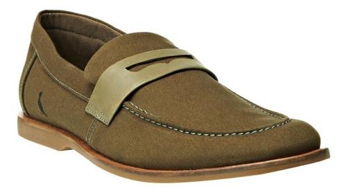 Imagem 1 de 10 de Sapato Masculino Henry Musgo - Reserva