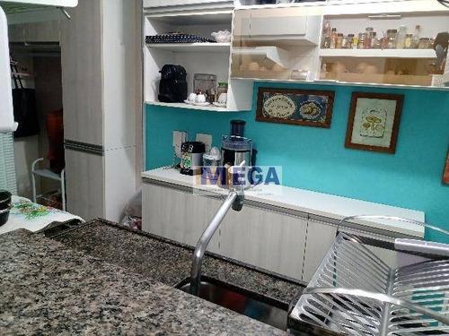 Imagem 1 de 19 de Apartamento Com 3 Dormitórios À Venda, 61 M² Por R$ 295.000 - Jardim Ipaussurama - Campinas/sp - Ap4711