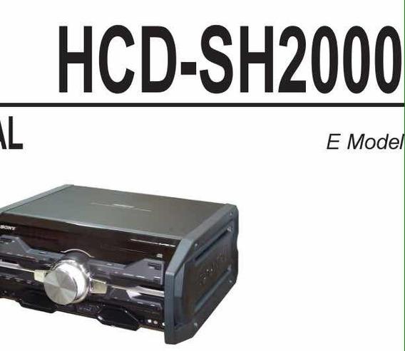 Esquema Elétrico Mimi System Sony Fst-sh2000 Envio Imediato