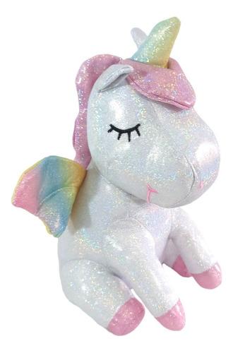 Peluche Unicornio Blanco