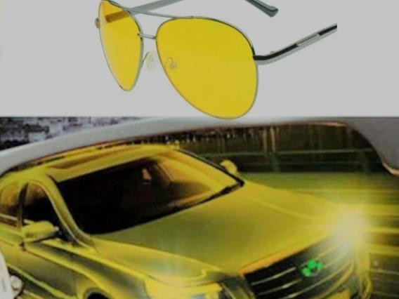 Óculos Para Noite Dirigir De Sol Motorista Lentes Amarelas