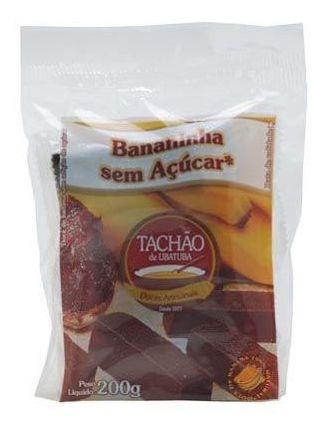 Imagem 1 de 1 de Bananinha Sem Açucar Tachão De Ubatuba 200g