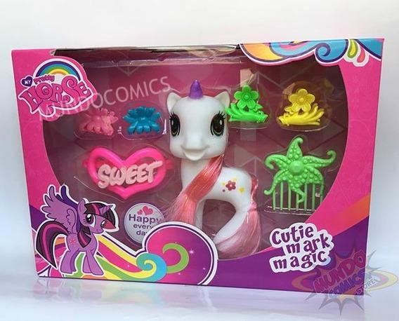 Set De Muñeca My Little Pony Con Accesorios (oferta)
