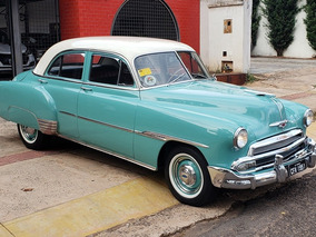 Chevrolet/gm Bel Air 6cc 1951 1951 Placa Preta