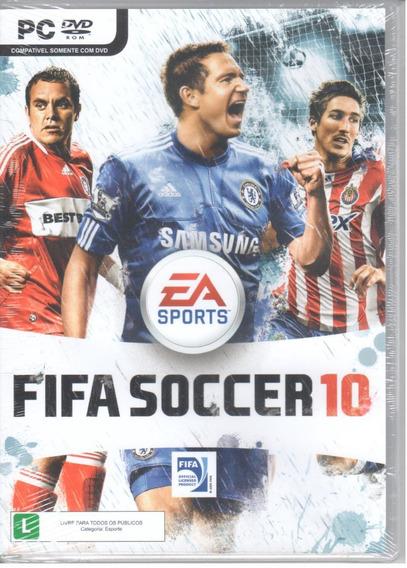 Fifa Soccer 10 Jogo Pc Original Mídia Física Lacrado
