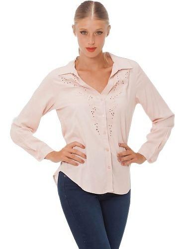 Camisa Mujer Camisola - Art. Rufina - Espacio De Bellas!