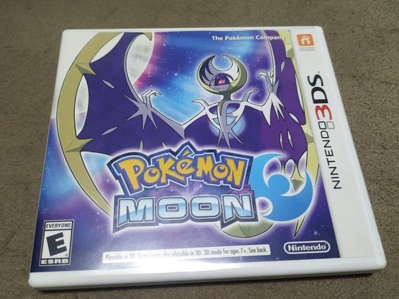 Pokémon Moon - Nintendo 3ds - Mídia Física - Original