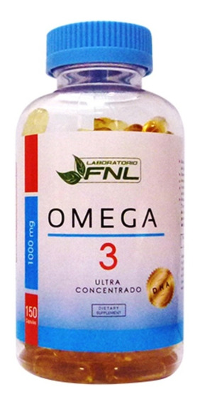Big Size Omega 3 150 Capsulas 1000 Mg Fnl Mercado Envios