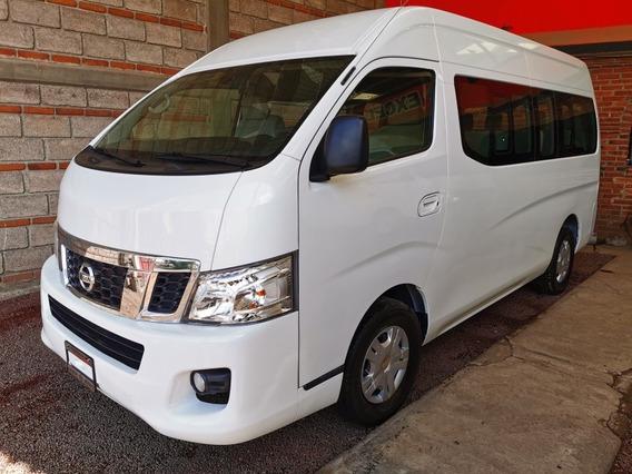 Nissan Urvan Nv350 15 Pasajeros Modelo 2015