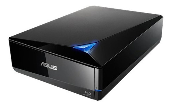 Gravador Externo - Usb - Blu-ray/dvd/cd - Asus - Preto - Bw-16d1x-u/blk/g/as