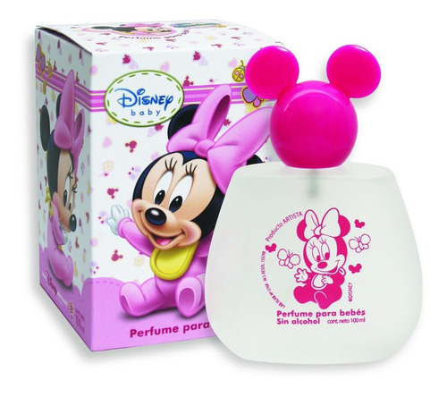 Perfume Disney Baby Minnie En Caja 100ml