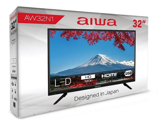 Televisor Tv Led 32 Pulgadas Marca: Aiwa.