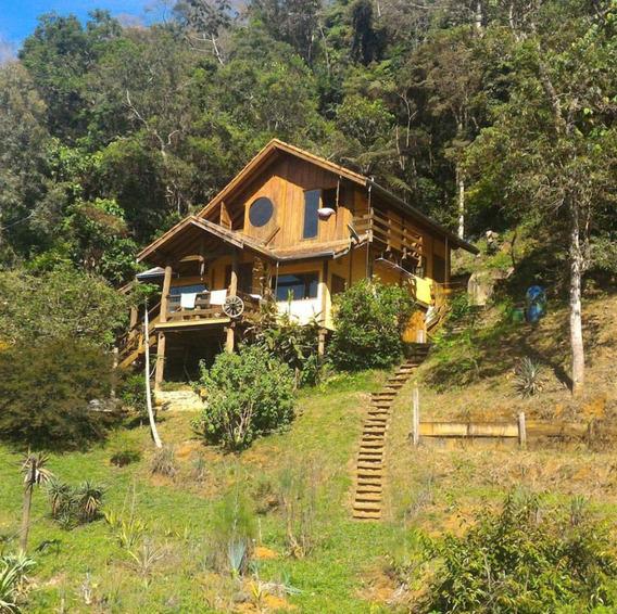Super Refugio Na Montanha No Meio Da Floresta