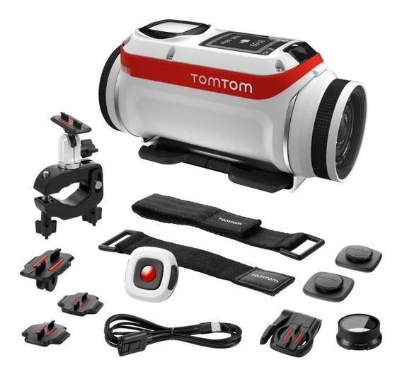 Câmera Tomtom Bandit 4k Action Cam Gps Wifi Slow Motion Ação