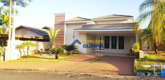 Casa Alto Padrão Com 3 Dormitórios À Venda, 149 M² Por R$ 570.000 - Residencial Veridiana - Olímpia/sp - Ca0099