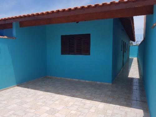 Imagem 1 de 14 de Casa Nova Em Itanhaém, 650 Metros Da Rodovia.