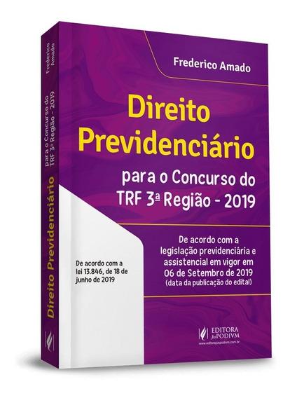 Direito Previdenciario Para Concurso Do Trf 3ª Região 1ª Ed
