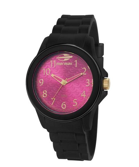 Relógio Mormaii Mo2035cq8q Mo2035cq 8q Silicone Mopc21jah