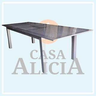 Mesa Boheme Extensible De Aluminio 2.20 A 2.80 X 1.00 Cec