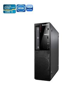 Pc Lenovo E73 I5-4430 8gb Hd 500gb + Wi-fi + Teclado E Mouse