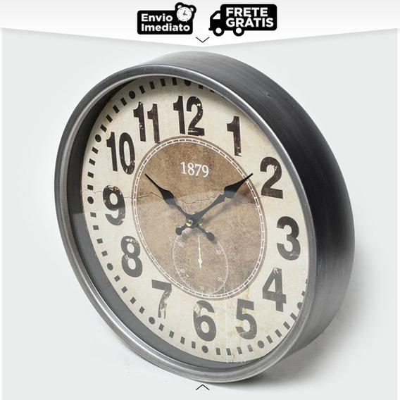 Relógio De Parede Antique Decor 1879