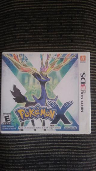 Pokémon X Nintendo 3ds Mídia Física