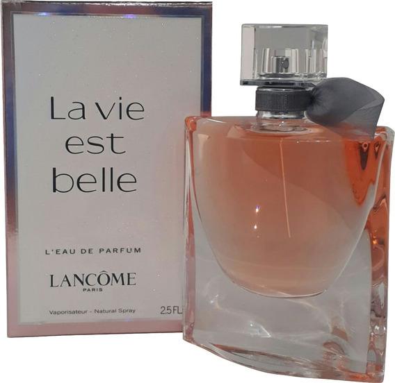 Perfume La Vie Est Belle 75ml Edp Lancôme + Brinde Amostra