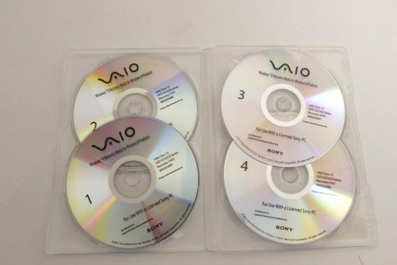Disco Recuperação Sony Recovery Disk Svd13210cb 989205684