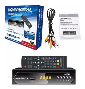 Conversor Tv Digital Super Slim Smart Gravador Hd Antena Rca