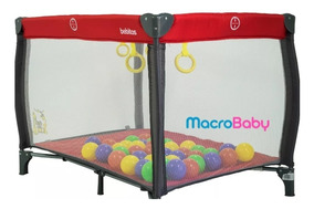 Pelotero Corralito Infantil Sofi Bebé Plegable Bebitos