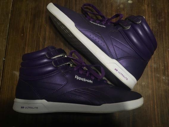 Zapatillas Reebook Freestyle Botas Color Violeta Talle 40