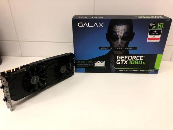Placa De Video Gtx 1080ti Galax Exoc - Gaming - Pouco Uso