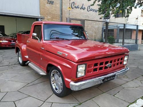 F100 1976, Customizada Com Motor V8 170 Cv
