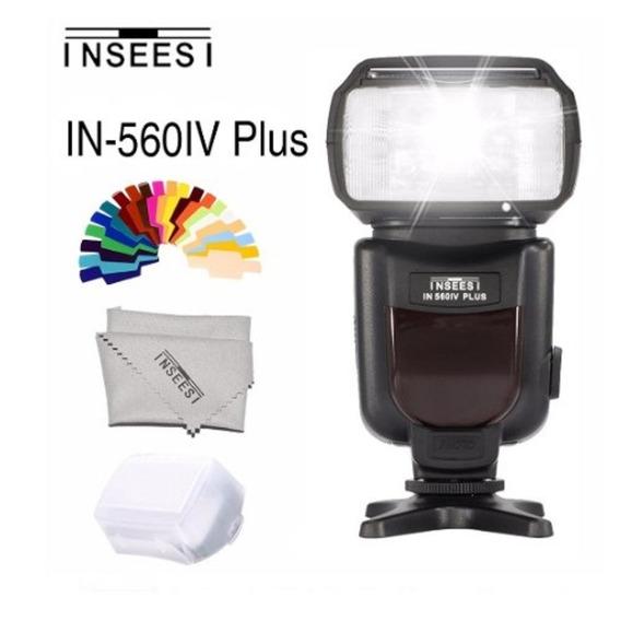 Flash Universa Câmera Dslr P/ Canon Nikon Panasonic Pentax